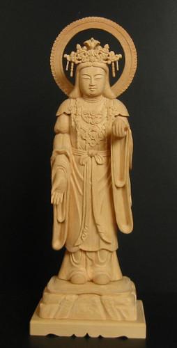 仏像彫刻作品集: 吉祥天立像